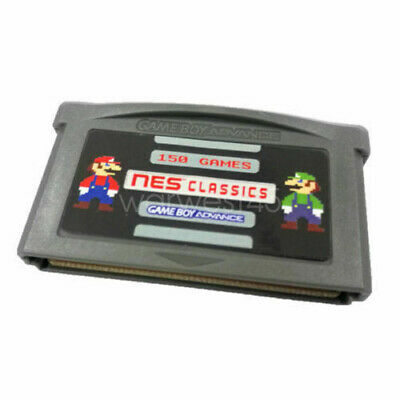 NES150in 1 Games for Game Boy Advance GBA SP NDS Mario SAVE STATES Xmas Gift