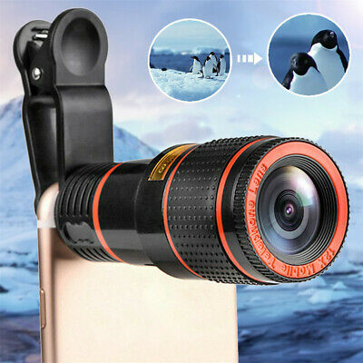 New Magic 12x Zoom Telescopic Lens-Compatible With All Phones