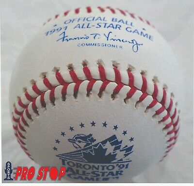 Official 1991 Rawlings ALL STAR Game Baseball  TORONTO BLUE JAYS