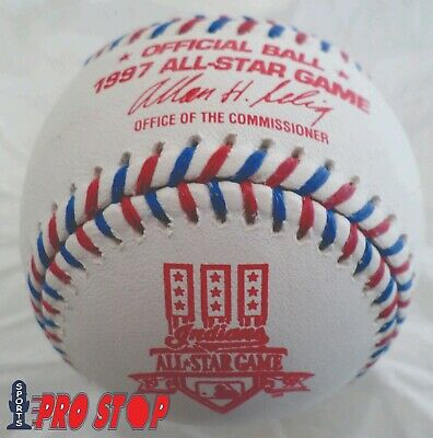 Official 1997 Rawlings ALL STAR Game Baseball  CLEVELAND INDIANS