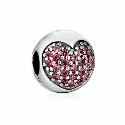 Authentic Pandora silver 925  791979CZ You - Me Forever dangle charm NWOT