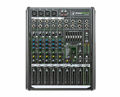 Mackie ProFX8 V2 8 Channel Compact Mixer With USB - Integrated Effects
