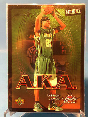 LeBron James 2003-04 Upper Deck Victory A-K-A- Holofoil Insert