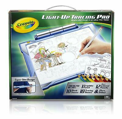 Crayola Light Up Tracing Pad Blue Amazon ExclusiveToys Gift for Boys Ages 6-