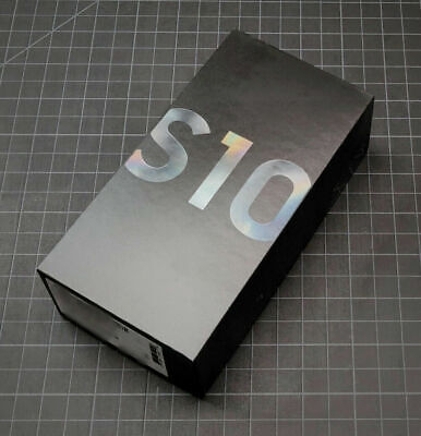 Samsung Galaxy S10 SM-G973U - 128GB - Prism Black Factory Unlocked All Carriers
