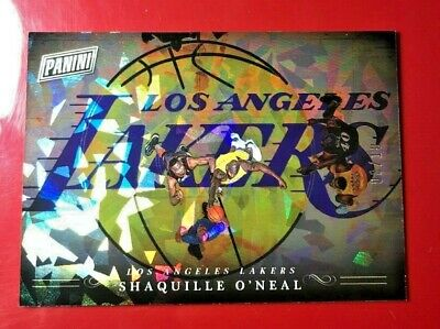 2018 Panini BLACK FRIDAY PRIZM 0810 Shaquille ONeal Lakers gold