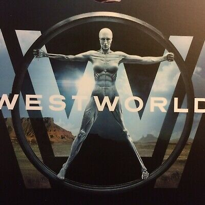 WESTWORLD Premiere SEASON 1 HBO EMMY FYC DVD TV Show Drama BEST 2 Episodes NEW