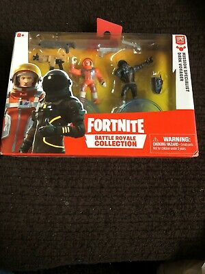 Fortnite Battle Royale Collection Duo Pack Dark Voyager and Mission Specialist
