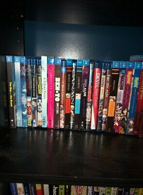 Large Anime Lot Over 60 Anime Titles to Choose From