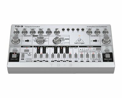 Behringer TD-3-SR Analog Bass Line SynthesizerSynth w 16-Voice Poly Chain