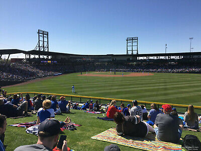 1-11 CHICAGO CUBS vs CHICAGO WHITE SOX FRI MARCH 6TH LAWN TICKETS