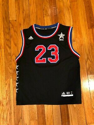 ADIDAS Anthony Davis 2015 NBA ALL-STAR WEST Jersey Youth Size Large