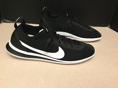 New Mens Nike Cortez Flyknit BlackWhite Running Shoes- Size 10-5- Nice Shoes