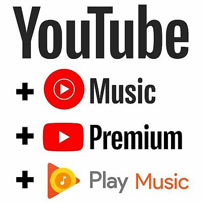 Youtube Premium - Youtube Music  WORLDWIDE  UPGRADE OWN ACC  FAST DELIVERY