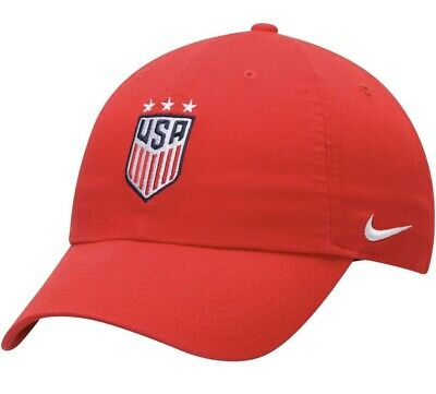 Nike Legacy 91 L91 USA World Cup Championship Winner 4 Star Cap Hat White
