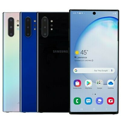 Samsung Galaxy Note 10- Plus Smartphone AT-T Sprint T-Mobile Verizon or Unlocked