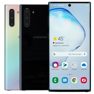 Samsung Galaxy Note 10 256GB Smartphone AT-T Sprint T-Mobile Verizon or Unlocked