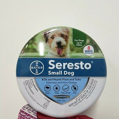 Bayer Seresto Flea and Tick Collar for Small Dog8 Months Protection FAST SHIP