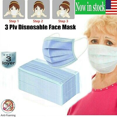 Lots of Different QTY packages Breathable Face Mask Mouth - Nose Protection