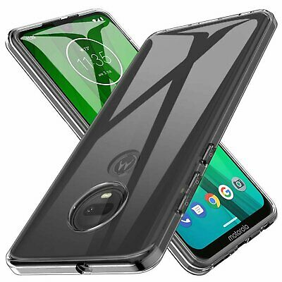 For Motorola Moto G7 Plus  G7 Power  G7 Supra Play Clear Shockproof Case Cover
