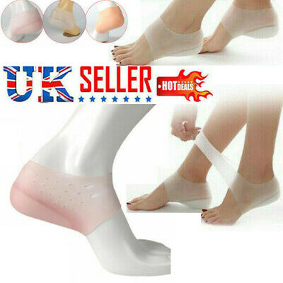 1 Invisible Height Lift Heel Pad Sock Liners Increase Insole Pain Relieve Pad-