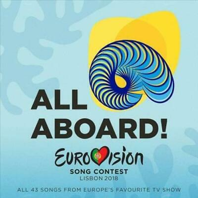 EUROVISION - ALL ABOARD EUROVISION 2018 2 CD NEW CD