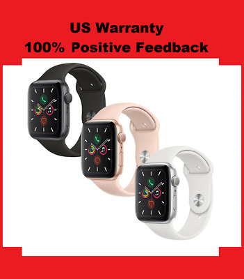 Apple Watch Series 5 GPS GoldGraySilver 40mm44mm PinkBlackWhite Sport Band