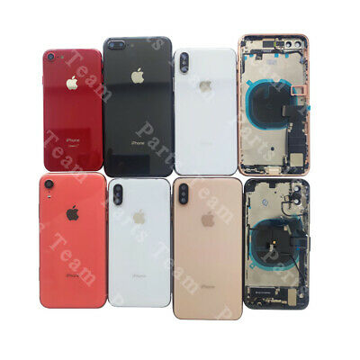 Back Housing Glass Battery Cover Frame Assembly For iPhone 8 8 Plus X XR XS MAX