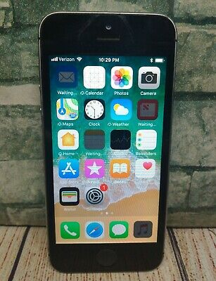 Apple iPhone 5s - 16GB - Space Gray VerizonUnlocked A1533 Works -Wonky Screen