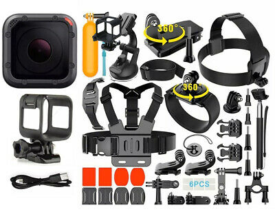GoPro HERO Session - Complete Accessory Kit Bundle 40- Piece Set