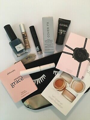 Lot of Sephora Makeup Skin Care Deluxe - Samples Mac Loc Cover FX RMS Beauty
