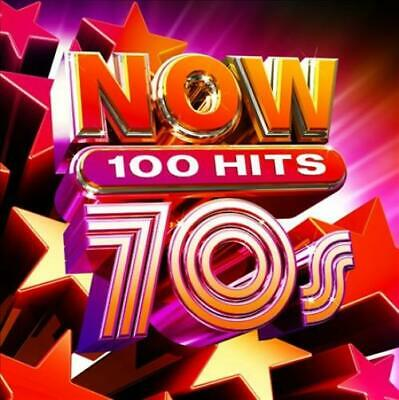 NOW 100 HITS 70S  VARIOUS 5 CD NEW CD