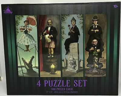 Disney Haunted Mansion Stretching Room Portraits 4 puzzle 500 Pieces New