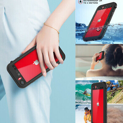 For Apple iPhone 78SE2020 Case Shockproof Waterproof w Screen Protector Cover