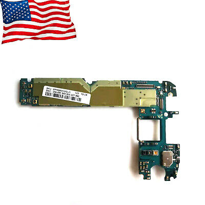 Verizon T-mobile For Samsung Galaxy S6 G920VT Motherboard Logic Board Clean IME