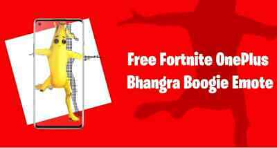 Bhangra Boogie Emote CODE  PS4  XBOX  PC  MOBILE NINTENDO  GLOBAL