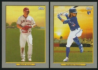 2020 TOPPS TURKEY RED BASEBALL - SERIES 1 - YOU PICK 1 - 100 - FREE SHIP