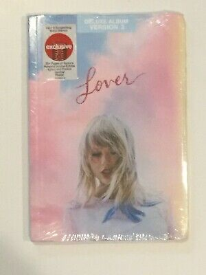 TAYLOR SWIFT Lover TARGET EXCLUSIVE CD Deluxe Versions Sealed NEW w Journal