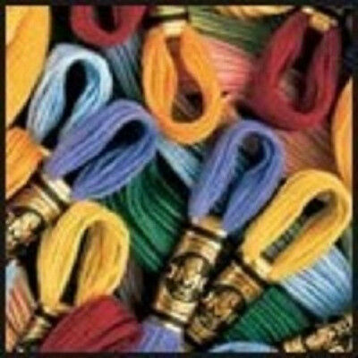 DMC® 6-Strand Embroidery Floss - 454 Colors to choose from - 2 skeins for -99