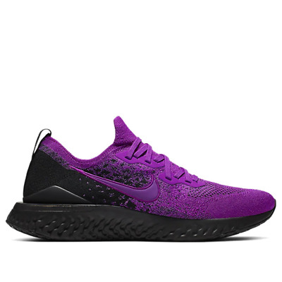Nike Epic React Flyknit 2 Mens Running Shoes BQ8928 500 Vivid Purple Black NEW