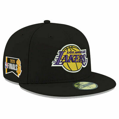 Official 2020 NBA Finals Los Angeles Lakers New Era 59FIFTY Fitted Hat