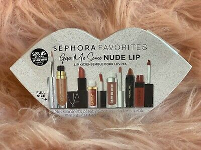Sephora Favorites Give Me Some Nude Lip multi branded nude-hued Gift Set Kit