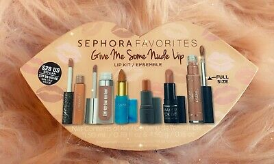 Sephora Favorites Give Me Some Nude Lips GIFT SET New Full size Ciaté London