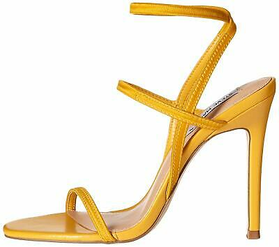 Steve Madden Womens Necture Fabric Open Toe Formal Slingback Yellow Size 6-5 B