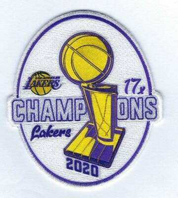 Official 2020 NBA Finals 17x Champions Los Angeles Lakers Collectible Patch