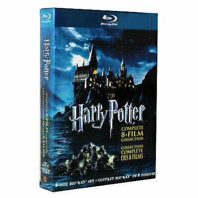 Harry Potter Complete 8-Film Moive Collection Blu-ray Disc 2011 8-Disc Set