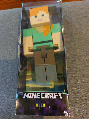 Minecraft Alex Action Figure Large Scale 8-5 New In Box