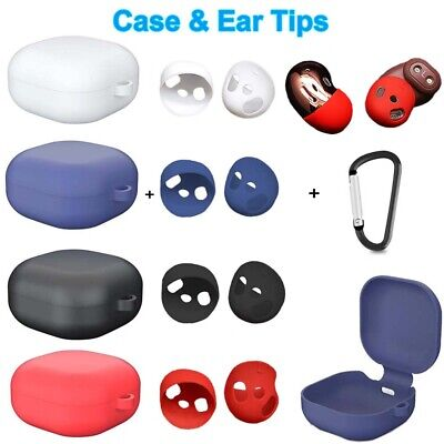 For Samsung Galaxy Buds Live Case Silicone Protective Cover and Ear Gels Tips