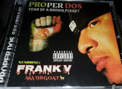 PROPER DOS FEAR OF A BROWN PLANET NEW CHICANO RAP CD