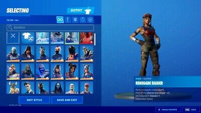 Renegade Raider Fortnite  Legit  Buy Now